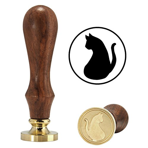 Lovely Cat Wax Stamp, Yoption