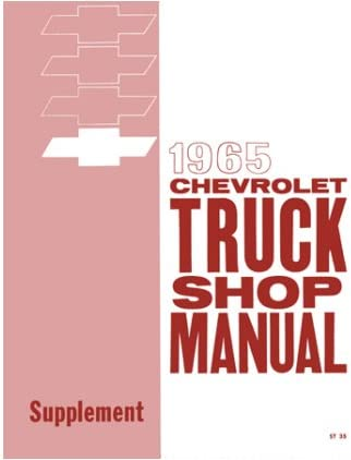 1960 61 62 63 64 65 66  CHEVROLET TRUCK FACTORY ASSEMBLY MANUAL ON CD