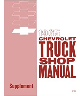1963 chevy pickup truck shop service repair manual book amazon 1965 chevy pickup truck shop service repair manual book fandeluxe Choice Image