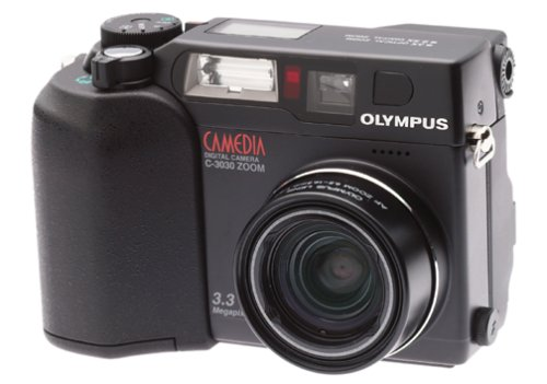 Olympus C3030 3.2MP Digital Camera w/ 3x Optical Zoom