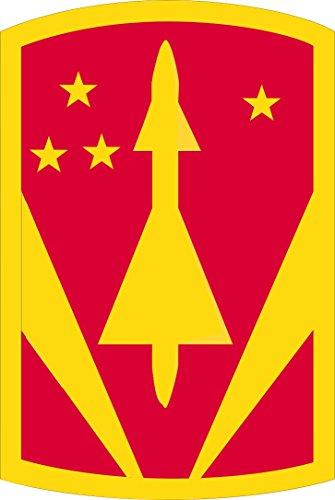 Military Vet Shop US Army 31st Air Defense Artillery Brigade Patch Vinyl Transfer Window Bumper Sticker Decal 3.8