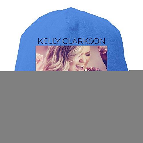 [YUVIA Kelly Clarkson Men's&Women's Patch Beanie SkatingRoyalBlue Hats For Autumn And Winter] (Scott Hall Costume)