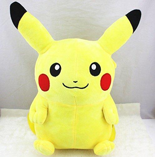 Togepi Pokemon Costume (Pikachu Stuffed Plush Backpack New Pokemon Soft School Bag Gift for Kids Girlfriend)