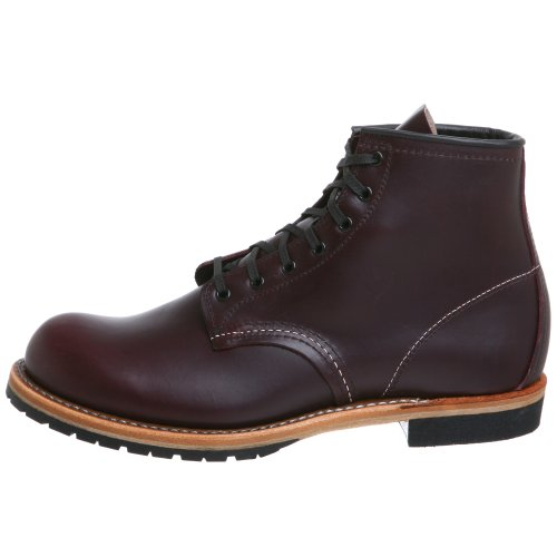 Image of the Red Wing Heritage Men's 6-Inch Beckman Round Toe Boot, Black Cherry Featherstone,10 D US