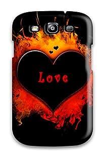 Best Waterdrop Snap-on Love In Fire Case For Galaxy S3 3298751K65308290