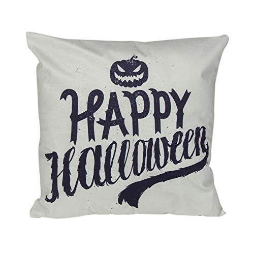 HomeMals Happy Halloween Pumpkin Throw Pillow Covers Hippy Cushion Cover Throw Floral Fall Pillow Case]()
