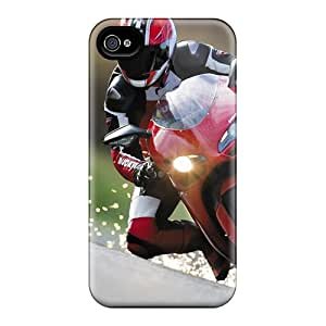 Iphone 4/4s CyU15767kDbA Support Personal Customs High-definition Motorcycles Motocross Series Excellent Hard Phone Covers -AlissaDubois