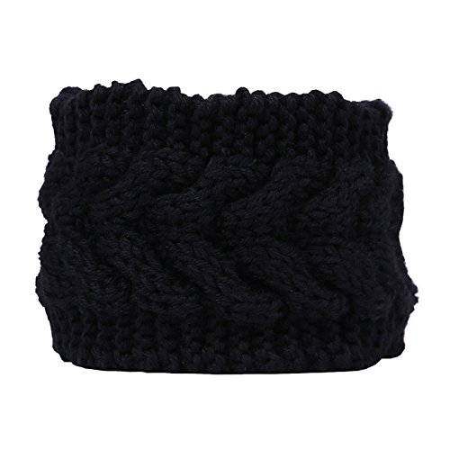 HDE Headband Braided Crochet Hairband