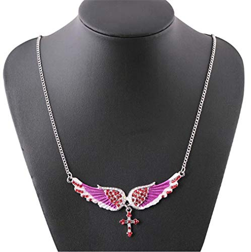CHASIROMA Crystal Pendant Necklace for Women Luck Necklace Charm for Girls Fashion Costume Jewelry Birthday Gift Idea -