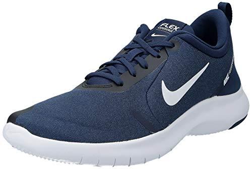 Nike Men's Flex Experience Run 8 Shoe, Midnight Navy/White-Monsoon Blue, 10 Regular US