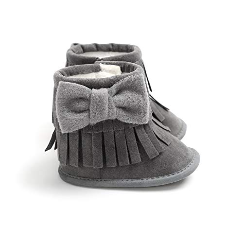 Pictures of Sawimlgy Infant Girls Warm Winter Snow Booties 2