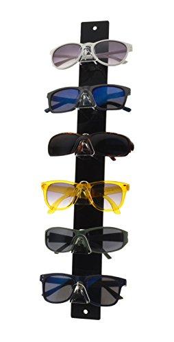 6b87c33da6 Marketing Holders Sunglasses Eyeglasses Display with Black Back Glasses  Nose 6 Tier Qty 2