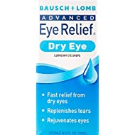 Bausch + Lomb Advanced Eye Relief Rejuvenation Lubricant Eye Drops, 0.50 Ounce Bottle (Pack of 3)