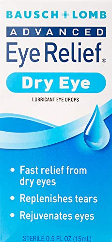 Bausch + Lomb Advanced Eye Relief Rejuvenation Lubricant Eye Drops, 0.50 Ounce Bottle (Pack of 3) ()