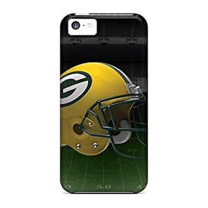 New Arrival Case Specially Design For Iphone 5c (green Bay Packers Helmet)