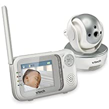 Vtech Safe & Sound Pan & Tilt Full Color Video Baby Monitor - VM333