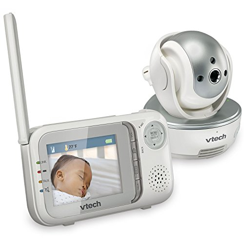 VTech VM333 Safe & Sound Video Baby Monitor with Night Vision, Pan/Tilt/Zoom and Two-Way Audio from VTech