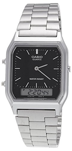 Casio AQ 230A 1DMQYEF Combi Bracelet Watch
