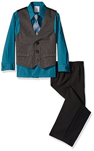 Perry Ellis HEATHER HERRINGBONE VEST product image