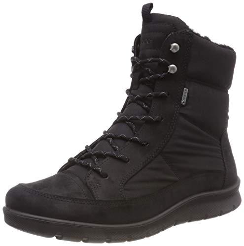 Ankle Babett Boots 2001 Women's UK 7 Black Black ECCO wTEHF7qOn
