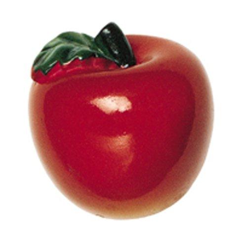 - Amerock BP9346HP Fruit'Z Apple Knob, Hand Painted, 1-5/16-Inch Long by 1-3/8-Inch Wide