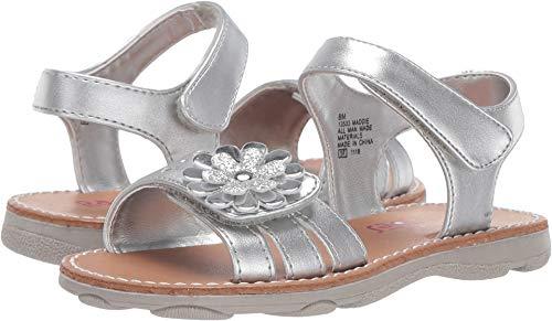 Rachel Kids Baby Girl's Maddie (Toddler/Little Kid) Silver Metallic 8 M US Toddler