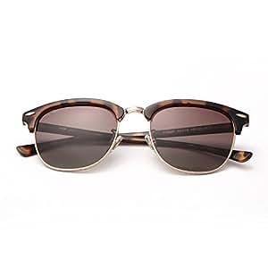 Gafas TAC Unisex Lentes Anti Glare Anti-UV Polarized Sunglasses Hombre ( Color : Marrón )