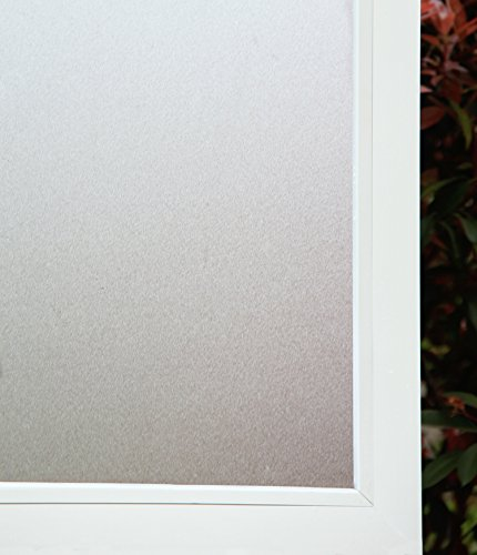 Concus-T Premium Static Cling No Adhesive Vinyl Opaque Privacy Frosted Window Film 35.43
