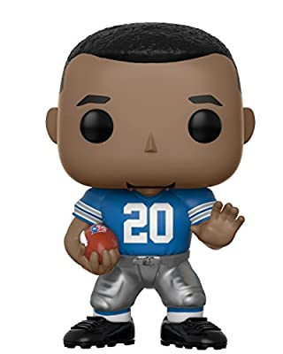 Funko Pop NFL: Barry Sanders (Lions Home) Collectible Figure