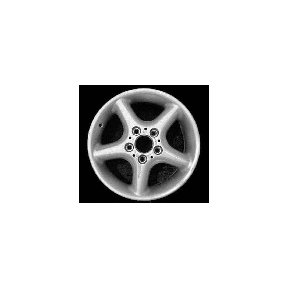 98 99 BMW 323IS 323 is ALLOY WHEEL RIM 16 INCH, Diameter 16, Width 7 (5 ROUND SPOKE), 46mm offset Style #18, SILVER, 1 Piece Only, Remanufactured (1998 98 1999 99) ALY59221U10