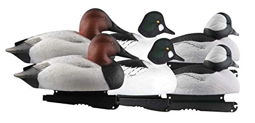 - Greenhead Gear Over-Size Duck Decoy,Diver Duck Pack,1/2 Dozen