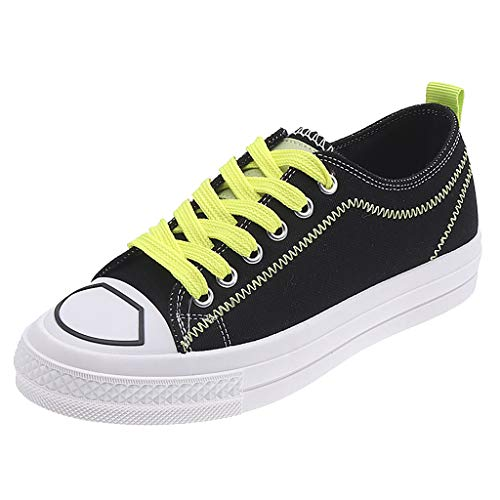 ONLY TOP Women's Canvas Shoes Casual Sneakers Low