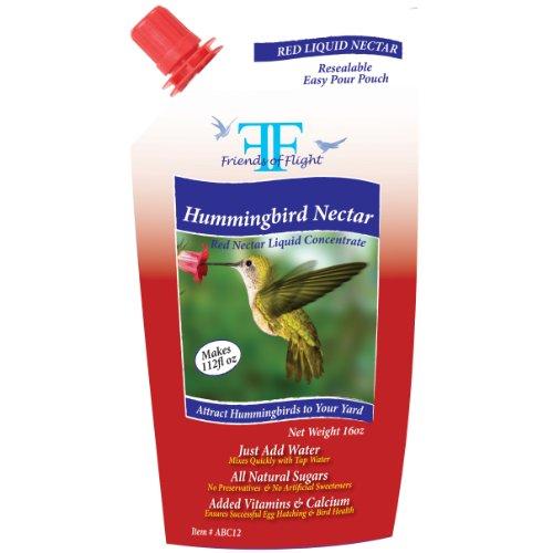 Friends Of Flight Haven 028968 Liquid Hummingbird Nectar ...