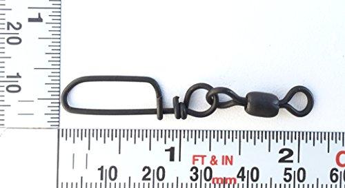 Stainless Steel Coastlock Snap Swivels 100 pack (#1-150Lb test)