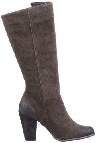 Buffalo London 20478-900 SPLIT SUEDE 126285 - Botas fashion de cuero para mujer Gris