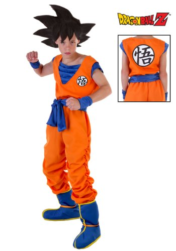 Goku Dragon Ball Z Costumes (Big Boys' Goku Costume X-Large (16-18))