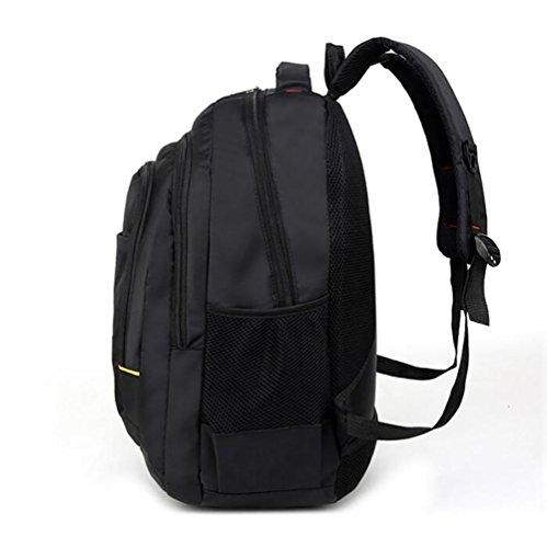 Mochilas bolsos de hombro los hombres los viajes de montaña de negocios y de ocio negro