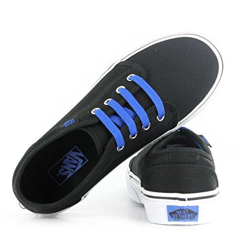Vans Classic 106 Vulcanized Black Blue Kids Trainers Black Blue