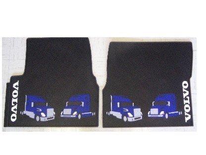 Volvo Truck Interior Rubber Floor Mats 85111522 (Truck Accessories Volvo compare prices)