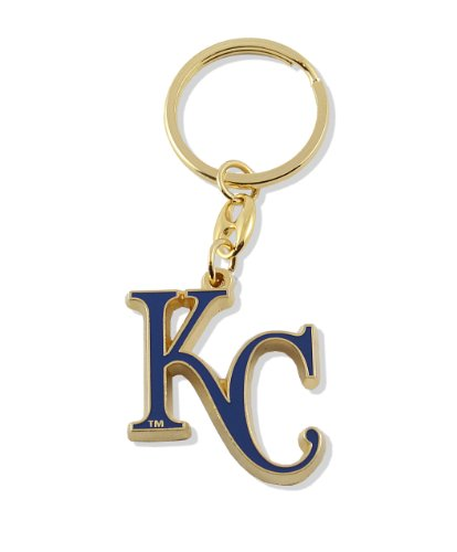 aminco MLB Kansas City Royals Team Logo Heavyweight Key Ring