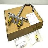 Symmons S-245-5-LAM Symmetrix Two handle bar sink faucet, Polished Chrome