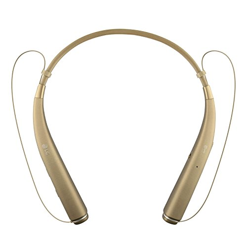 LG Tone Pro HBS-780 Bluetooth Stereo Headset Gold - Renewed