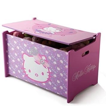 Hello Kitty Toy Box Spielzeugkiste Holz Truhe für Spielzeug ...