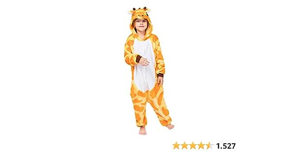 DEBAIJIA Pijama Animal para Niños Niñas Disfrace Franela ...