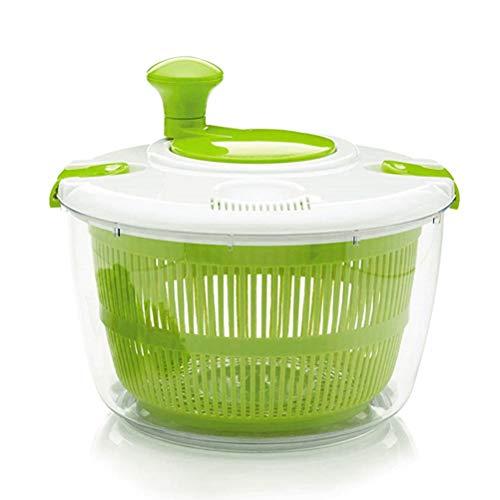 Fliyy Salade Spinner Plantaardige Veg Bladdroger Drainer Vergiet Plastic Kom,Wasmachine Zeef en Droger voor Groenten en…