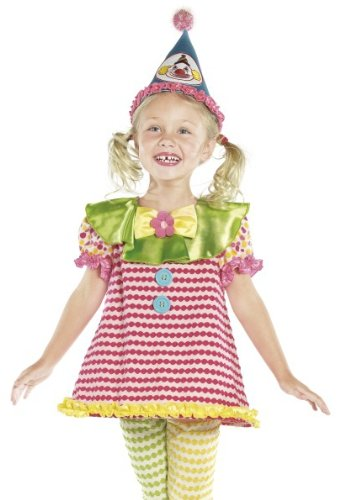 Smiffys Kids Circus Clown Outfit Girls Halloween Costume