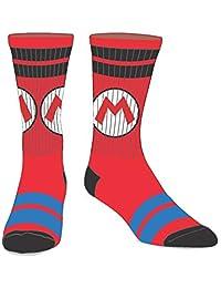 Men's Nintendo Super Mario M Crew Socks