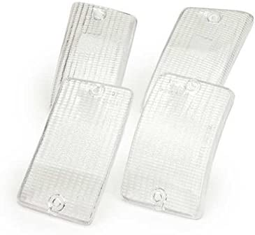 Blinker Glasses Set Of 4 Front Rear Piaggio Vespa Pk 50 80 125 Xl White Auto
