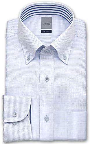 [ロードソン] ワイシャツ 長袖 綿 100% 形態安定 加工 メンズ ZOD38
