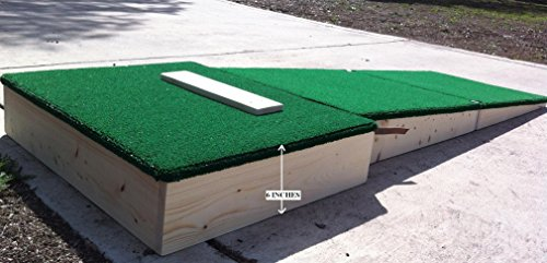 Portable Pitching Mound 6 inch for ages 12 and under by Unknown